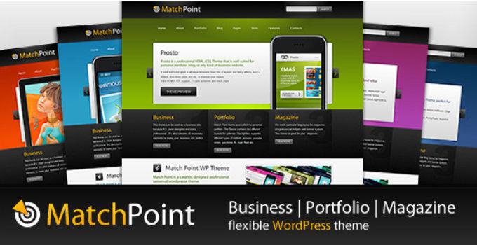 MatchPoint - Business, Portfolio, Magazine theme