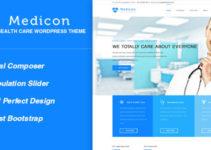 Medicon - Health and Medical WordPress Theme