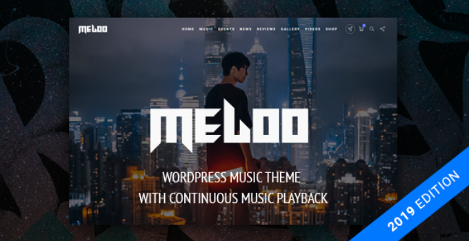 Meloo - Music Producers, DJ & Events Theme for WordPress