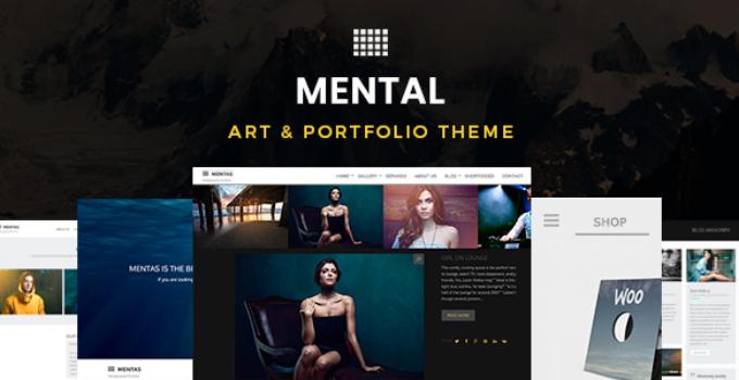 Mental | Art & Portfolio Theme