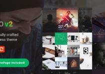 Miko Clean Business WordPress Theme