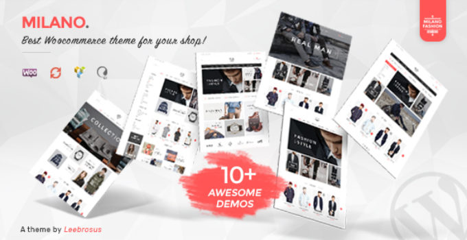 Milano - Awesome Fashion Responsive WooCommerce Theme