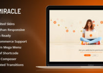Miracle | Responsive Multi-Purpose WordPress Theme