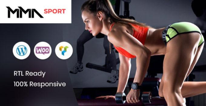 MMAsport - Sporting Club WooCommerce Theme