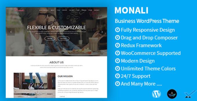 Monali - Business, Agency, Corporate WordPress Theme
