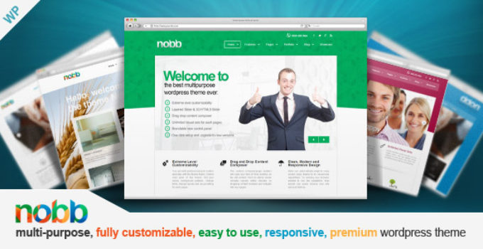 Nobb - Responsive Multi-Purpose Theme