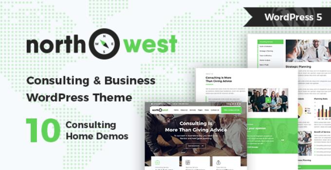 Northwest - Consulting WordPress Theme