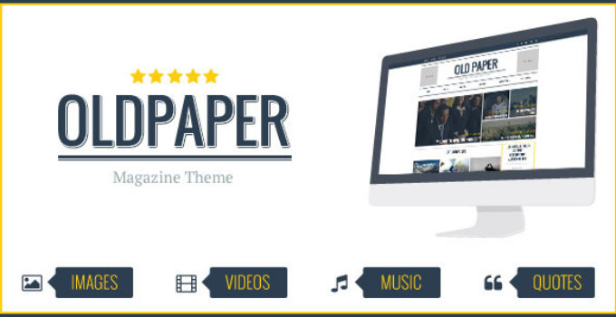 OldPaper - Ultimate Magazine & Blog Theme