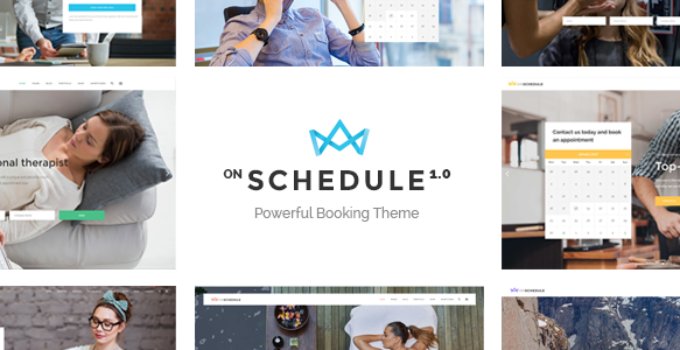 OnSchedule - Booking Theme for Business and Retail