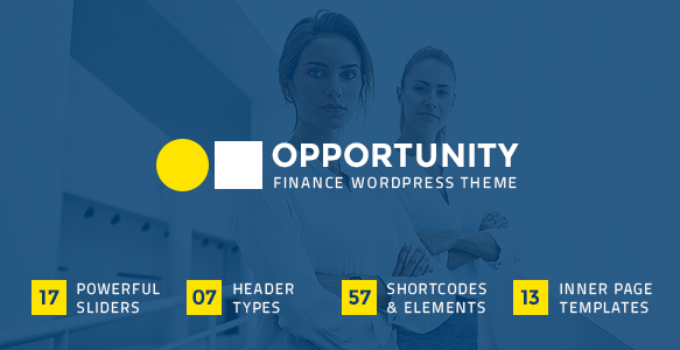 Opportunity - Finance Business Theme