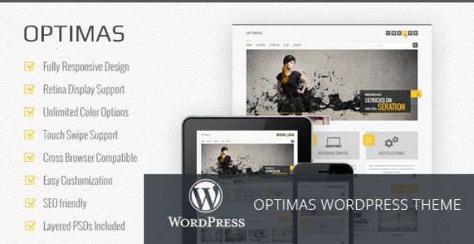 Optimas - Responsive WordPress theme