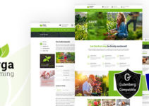 Orga Farm - Organic Food, Organic Farm WordPress Theme