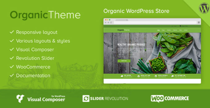 ORGANIC | Organic Farm & Food Business WordPress Theme