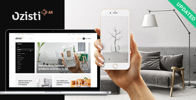 Ozisti   A Multi-Concept WooCommerce WordPress Theme Augmented Reality Store Ready