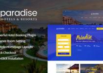 Paradise - Hotel & Resort Responsive WordPress Theme