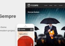 PerSempre - Responsive WordPress Theme For Your Business