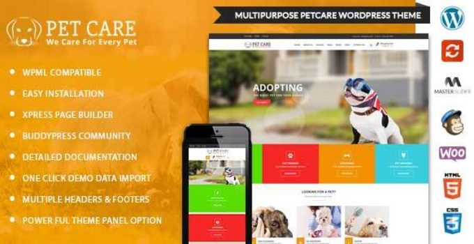 PetCare - WordPress Multipurpose Theme