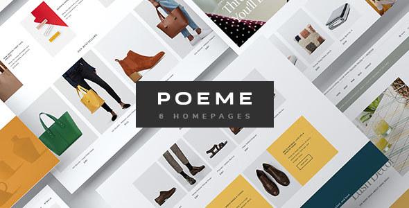 Poeme Dynamic Multipurpose Woocommerce Wordpress Theme