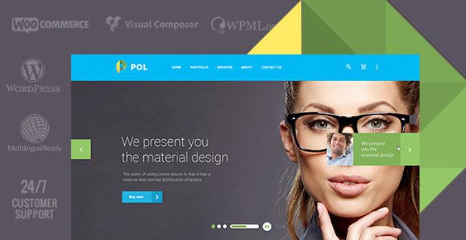 POL - Material Multi-Purpose WordPress Theme