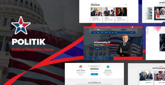 Politik - Political WordPress Theme