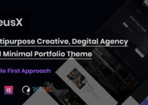 PreusX - Digital Agency And Portfolio WordPress Theme