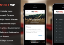 Pro Mobile | Mobile and Tablet Responsive WordPress Theme (WooCommerce Ready)