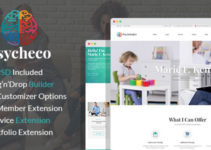 PsycheCo – Therapy & Counseling WordPress Theme