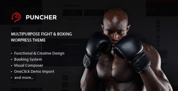 Puncher - Responsive Multipurpose WordPress Theme