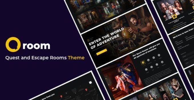 Qroom - Quest and Escape Room WordPress