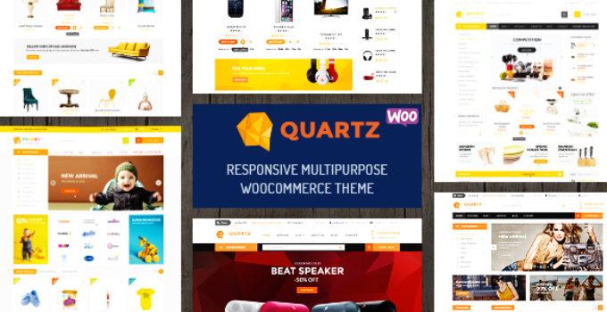 Quartz - Responsive Multipurpose WooCommerce Theme