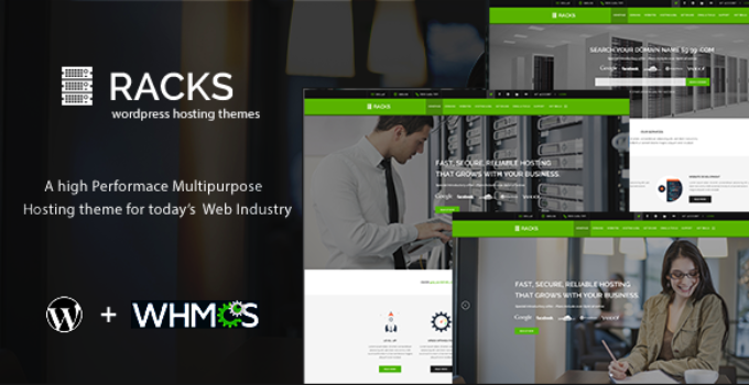 Racks | WordPress Hosting + WHMCS Theme