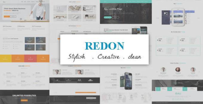 Redon - Multipurpose Landing Page WordPress Theme