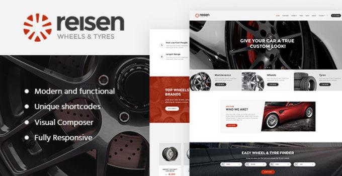 Reisen | Automechanic & Car Repair WordPress Theme