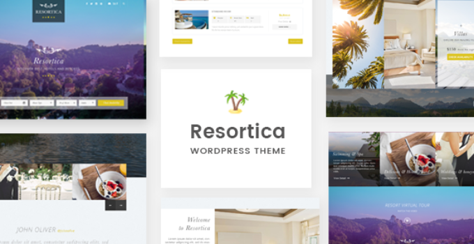 Resortica | Hotel WordPress Theme