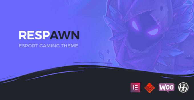 Respawn - Esports Gaming WordPress Theme FREE Download | wpnull24