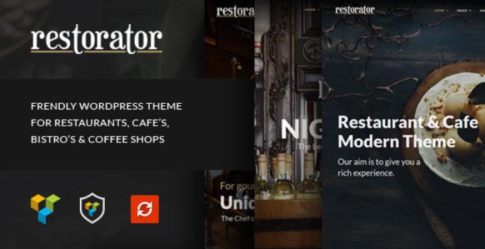 Restorator - Restaurant & Cafe WordPress Theme