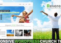Reverence - Church Responsive WordPress HTML 5 The