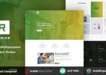 Rewon - MultiPurpose Business WordPress Theme
