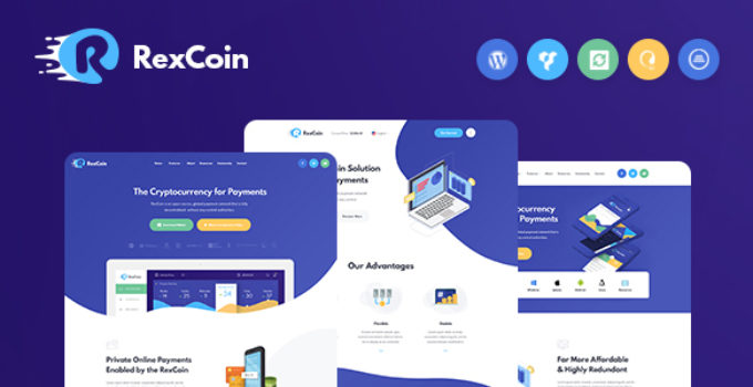 cryptocurrency trading wordpress theme