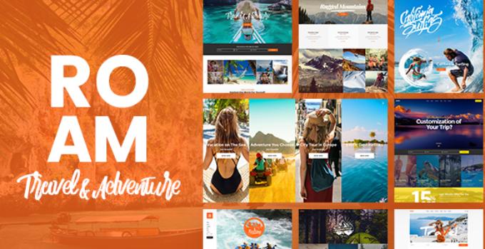 Roam Travel And Tourism Wordpress Theme Free Download