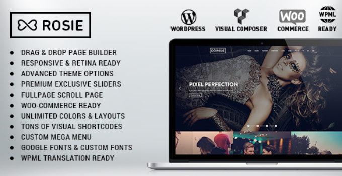 ROSIE - Multi-Purpose WordPress Theme