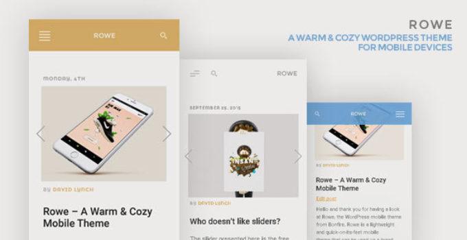 ROWE Mobile Theme for WordPress
