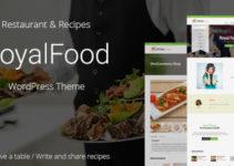 Royal Food - Restaurant and Recipe WordPress Theme