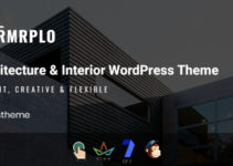 Rvrmrplo - Architecture & Interior WordPress Theme