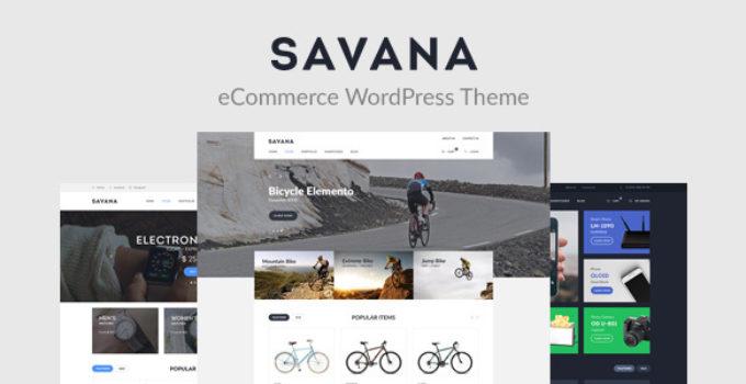 Savana - Multi Concept WooCommerce WordPress Theme for eCommerce