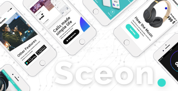 Sceon - Theme for Apps and Startups