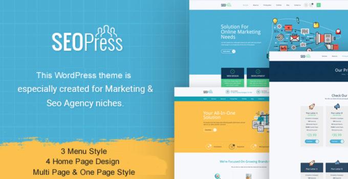 SeoPress - Digital Marketing Agency WordPress Theme