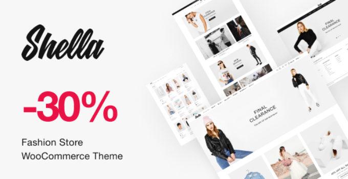 Shella - Fashion Store WooCommerce Theme