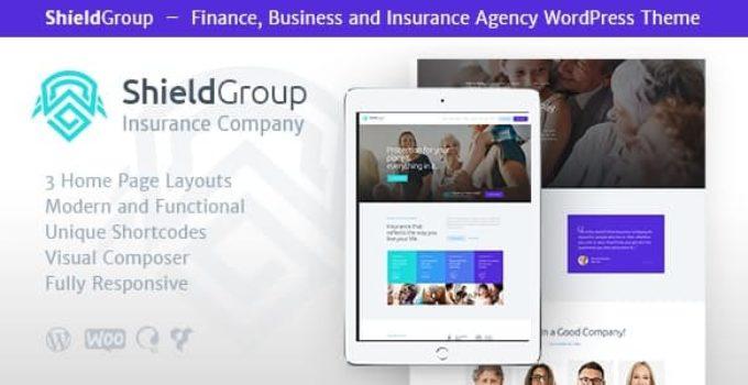 ShieldGroup | An Insurance & Finance WordPress Theme