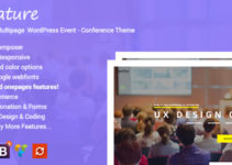 Signature - Responsive Onepage Conference Events WordPress Theme